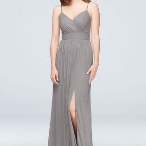 David's bridal bridesmaids dress - Mercury - 6
